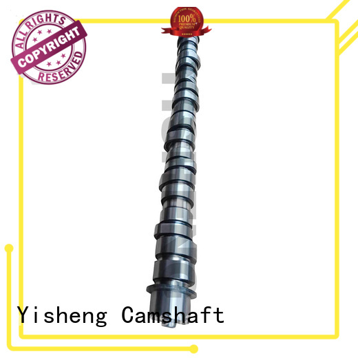 Yisheng advanced forged camshaft bulk production for cummins