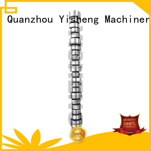 Yisheng low cost racing camshaft manufacturers at discount for truck