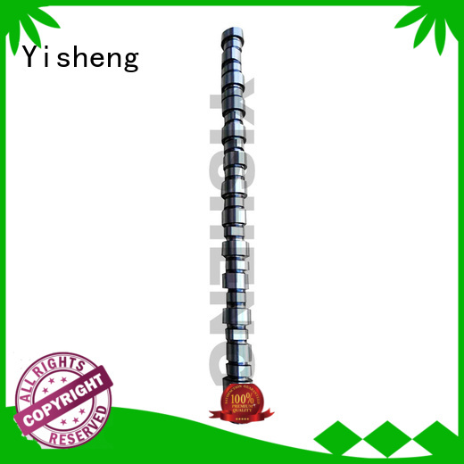 Yisheng hot-sale cummins diesel camshaft factory for cummins