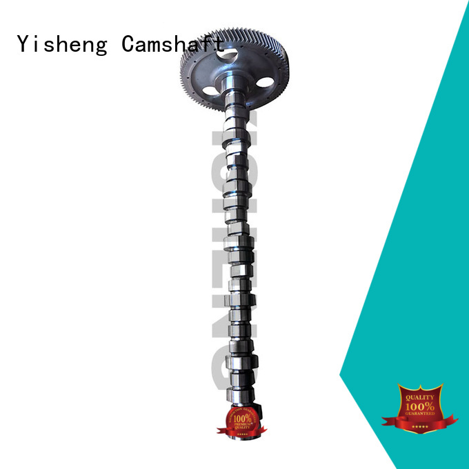 Yisheng low cost high lift camshaft manufacturer for cat caterpillar