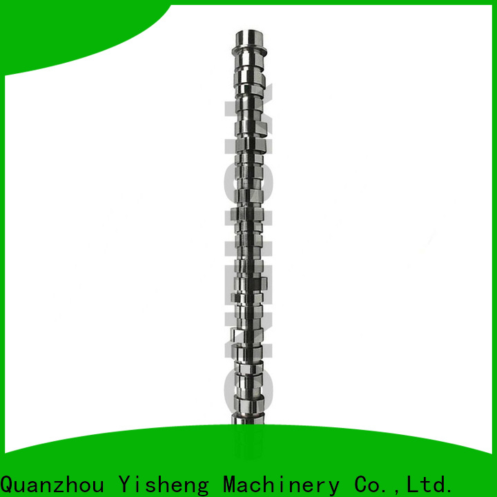 Yisheng high-quality solid camshaft bulk production for cat caterpillar